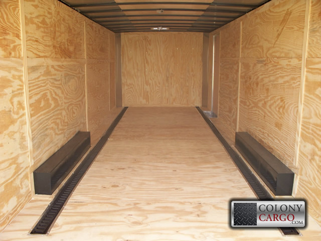 E Track D Ring And Wheel Chock Options 2 Row Floor And