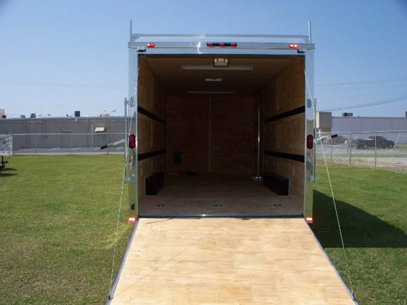 Elite 20 Foot Enclosed Trailer with Awning - 439 ...
