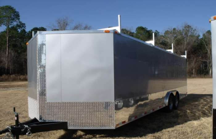 Heavy Duty Car Hauler Cargo Trailer 622 American Trailer Pros