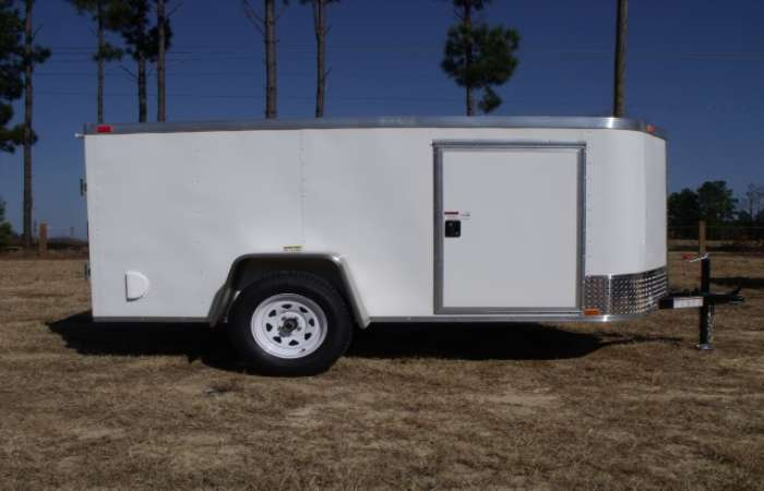 Extreme Low Profile 5x10 Cargo Trailer 625