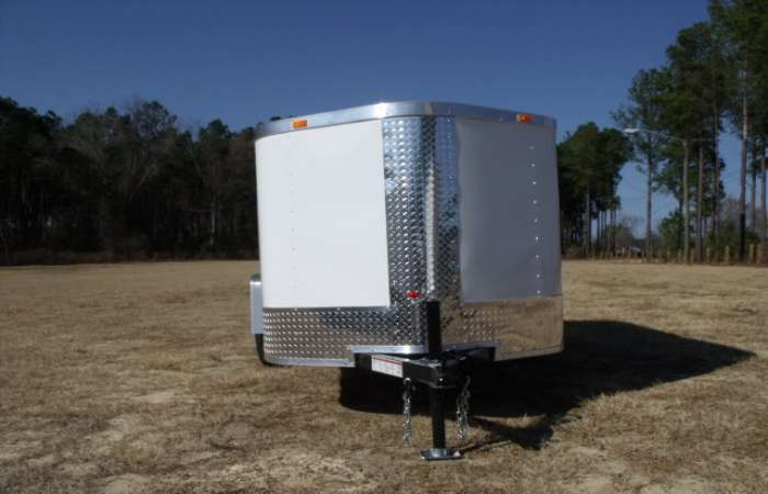 Extreme Low Profile 5x10 Cargo Trailer