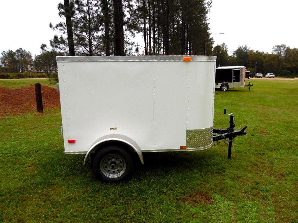 4x8 Enclosed Trailer - 688 - American Trailer Pros - Cargo Trailers ...