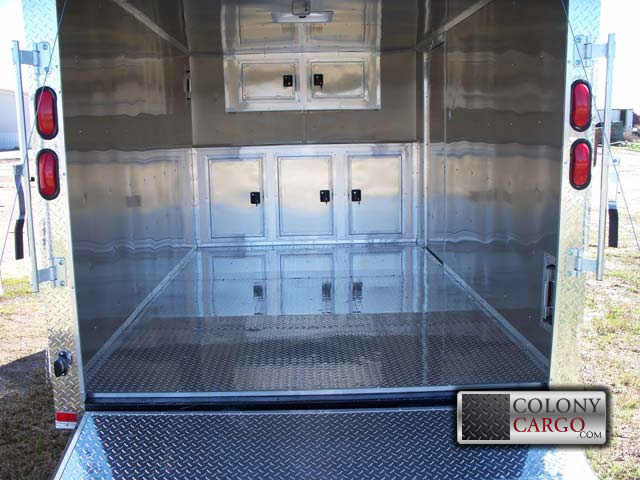 Cabinet Options U2013 Cabinets In V Nose · Home · Quick Quote · Cargo Trailers  ...