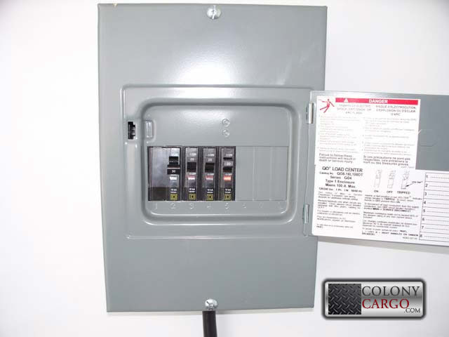 Electrical Options - Electrical Panel Box - American Trailer Pros ...