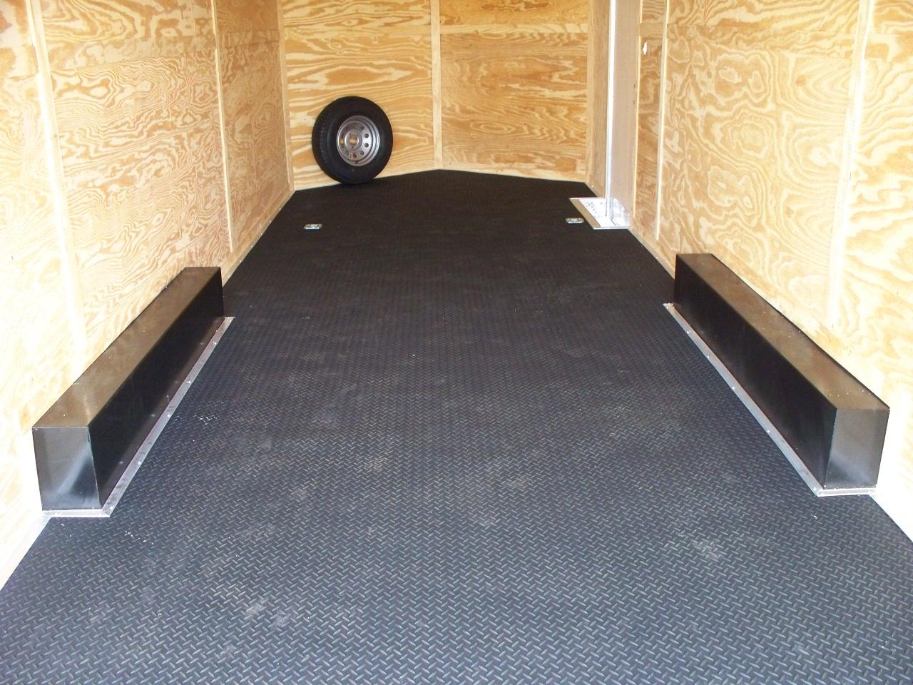 Enclosed Trailer Flooring Options Designs